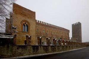Lato castello di Carimate