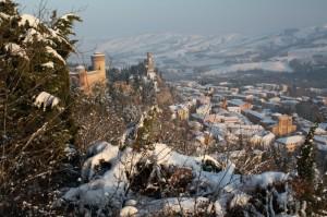 Brisighella, la sua Rocca e la Torre dell'orologio