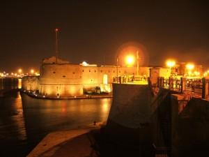 il castello e le sue luci