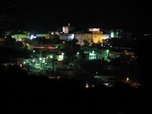 Castro alto BY NIGHTe il suo castello (LE)
