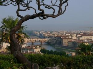 Ponte Vecchio Incorniciato