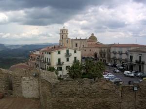 Piazza Campo vista dal castello