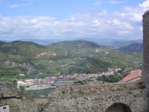 panorama visto dal castello