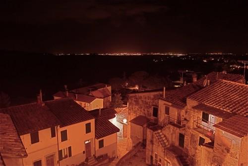Montescudaio - Montescudaio di notte