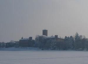 Castello nel bianco