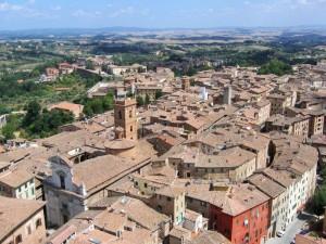 Siena e i suoi tetti