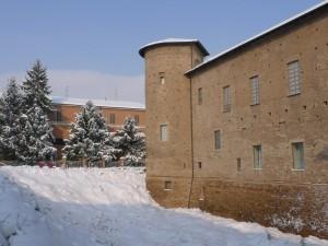 La neve sulla Cittadella