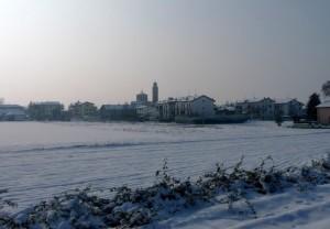 La neve ha … rotto il freno …!!