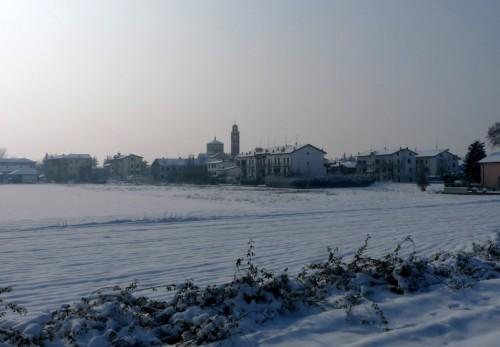 Rottofreno - La neve ha ... rotto il freno ...!!
