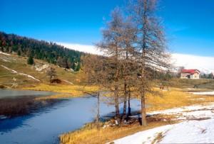Col Saurel e il Lago Nero