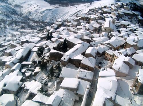 Marsicovetere - neve su Marsicovetere