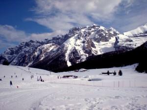 Campo Carlo Magno versione invernale