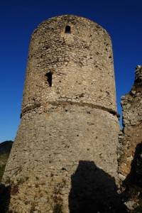 La torre dal lato sud