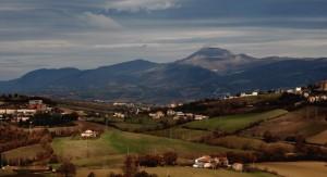 Monte San Vicino- Panorama del monte