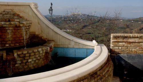 Bucchianico - Bucchianico dalla fontana di Vacri