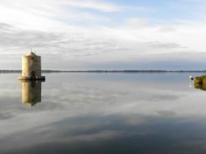 Il Mulino della Laguna e l'Istmo naturale di Orbetello