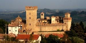 Veduta del Castello di Vigoleno Pc