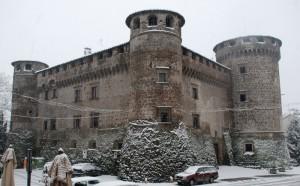 Neve Su Castello Orsini