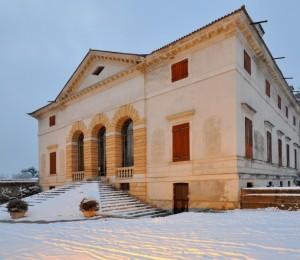 Neve a villa Caldogno