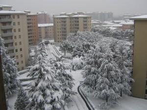 inverno.. dalla mia finestra