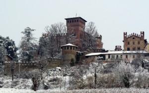 il castello imbiancato