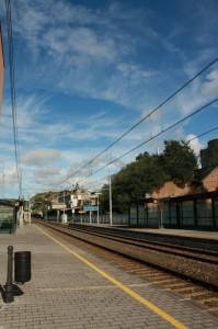 …alla stazione di villafranca