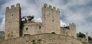 La cinta muraria di Vico nel Lazio