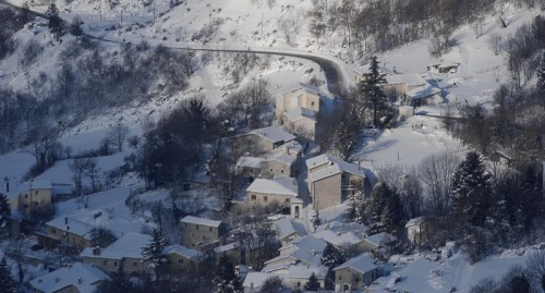 Bolognola - Quasi un Bianco e Nero