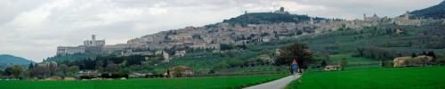 Assisi - Arrivando ad Assisi