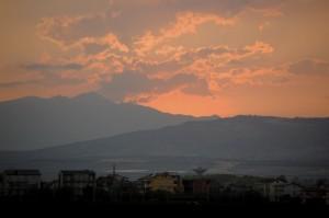 tramonto a sibari