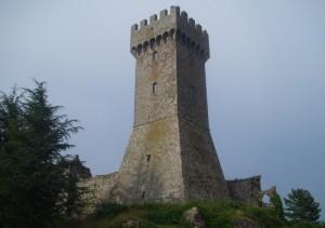 la grande torre di Radicofani