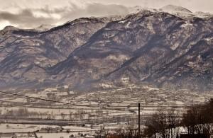 Quincinetto alla prima neve