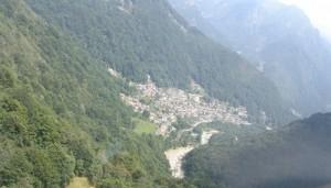 Piedicavallo dall'elicottero, 2, Biella, Piemonte