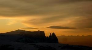 tramonto dolomitico