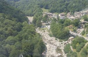 Piedicavallo dall'elicottero, 3, Biella, Piemonte