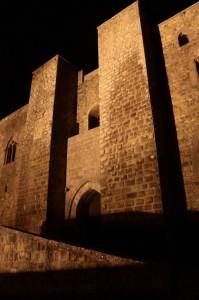 ingresso del castello di Lagopesole
