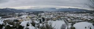 Sotto una bianca coltre di neve