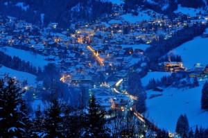 Ortisei by night