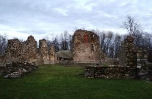 Le antiche rovine del castrum