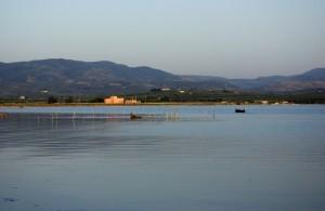Panorama del lago di Varano
