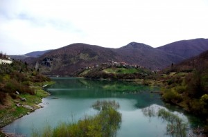 Panorama Lago di Vagli