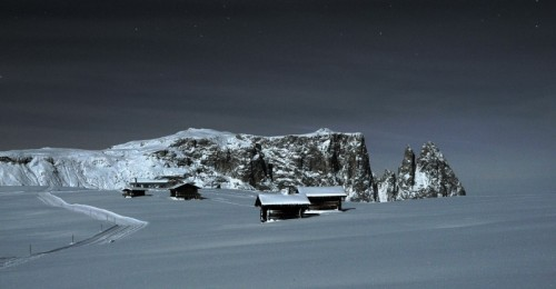 Castelrotto - Alpe di Siusi @moonlight