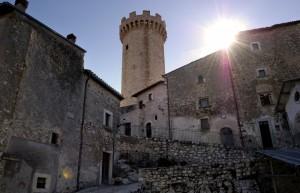 La torre svanita - Santo Stefano prima del sisma