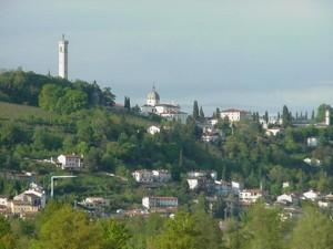 campanile, cupola e verde