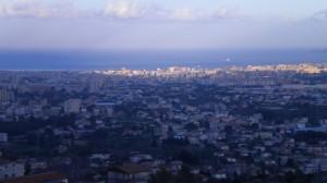 Ultime luci del giorno su Palermo