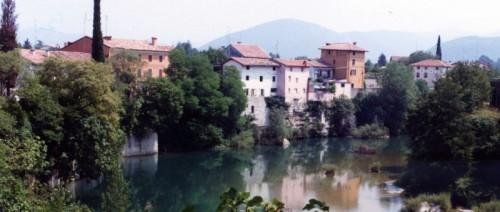 Cividale del Friuli - sul Natisone prima della cascatella