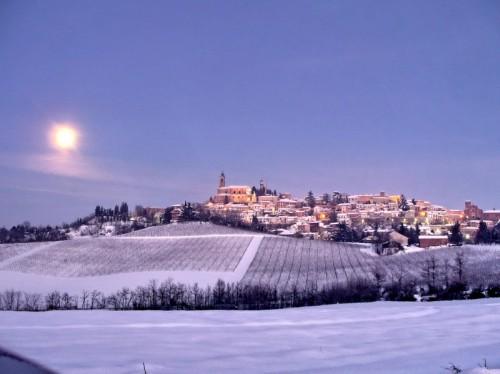 Vignale Monferrato - Luna su Vignale Monferrato