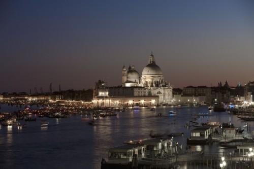 Venezia - Basilica della Salute al tramonto