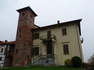 Torre del castello di Borgomasino