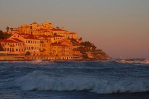 Porto Maurizio al tramonto